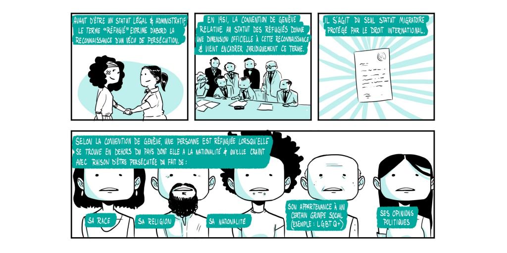 BD - Réfugiés et demandeurs d'asile - Page 1 - Partie 2