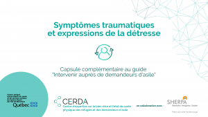 Symptômes traumatiques et expressions de la détresse