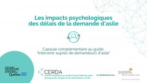 Les impacts psychologiques des délais de la demande d'asile