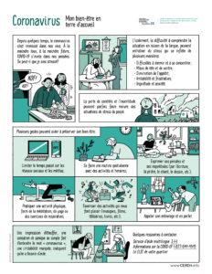 BD - Coronavirus, mon bien-être en terre d'accueil - Français