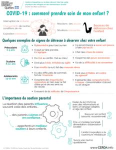 INFO - COVID-19 : comment prendre soin de mon enfant - Français