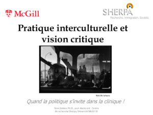 CERDA - Pratique interculturelle et vision critique - Yann Zoldan