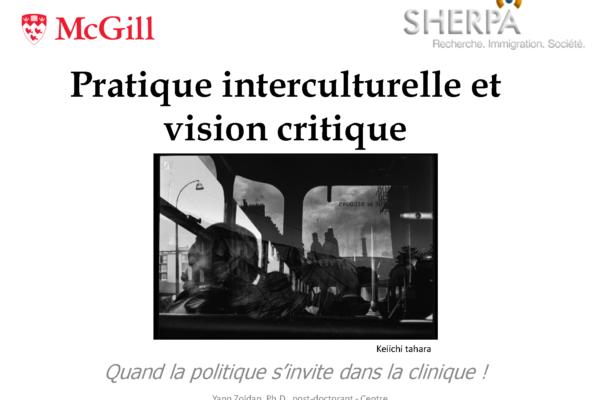 Pratique interculturelle et vision critique