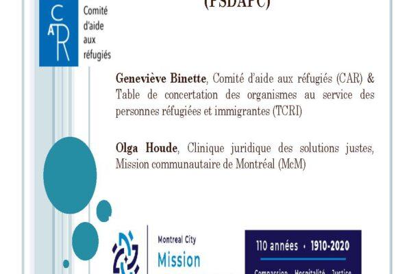 Ce qu'il faut savoir sur le Programme spécial des demandeurs d'asile en période de COVID-19: informations pratiques pour accompagner les demandeur.se.s d'asile